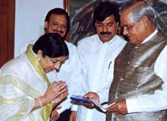 Lata Mangeshkar lost a father figure