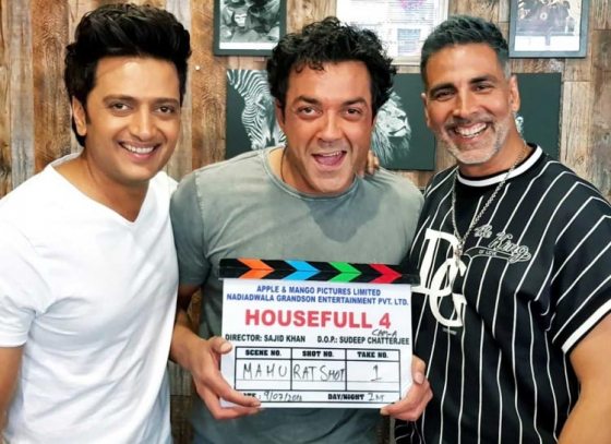 Team Housefull 4 is ready!!