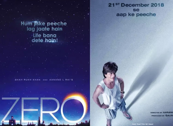 Posters of ZERO revealed by SRK
