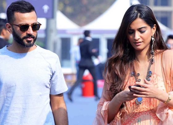 Sonam's first trip to London with in-laws