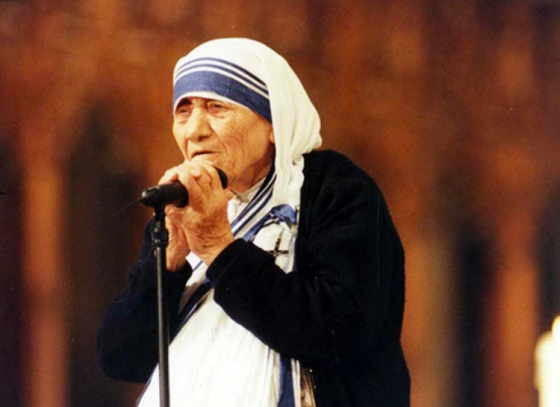 Mother Teresa on Big Screen
