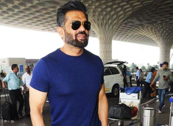 Suneil Shetty is gracefully aging
