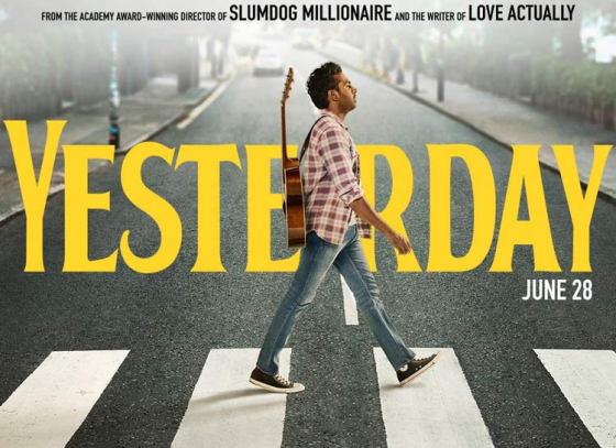 Written by Richard Curtis, 'Yesterday' is about Ed Sheeran