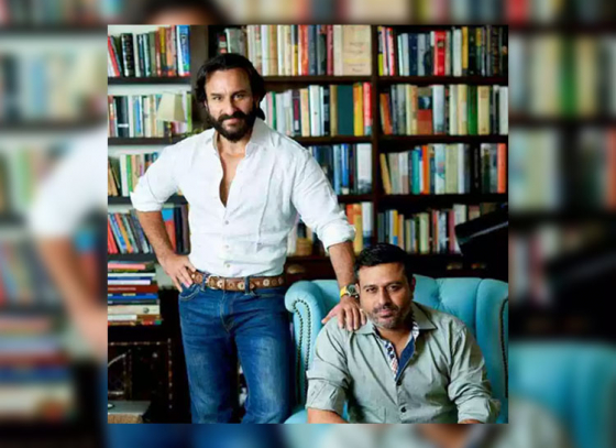 First Look of Saif's Next