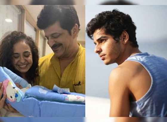 Ishaan Khattar's father welcomes a baby boy at 52