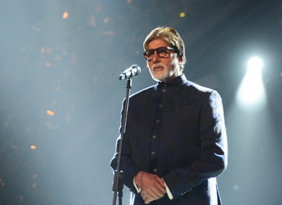 Big B Honored with Dadasaheb Phalke Award