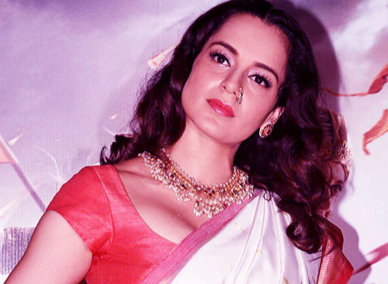 Kangana looks unrecognizable under heavy prosthetics