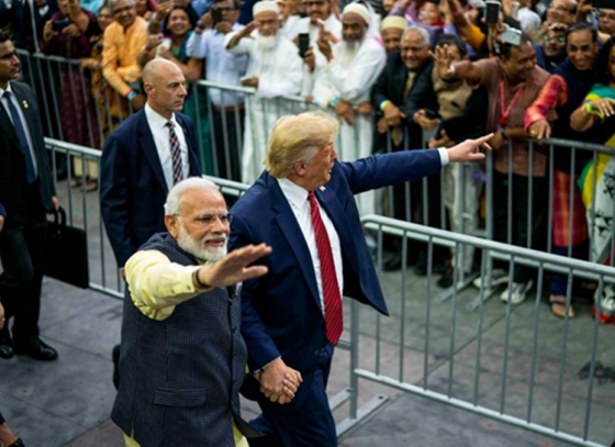 DDLJ & Sholay comes up in Trump's Motera speech